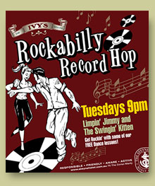 rockabilly record hop